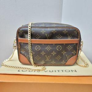 100% Authentic Louis Vuitton Monogram Compiegne 23